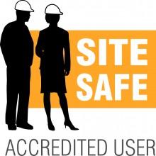 Site Safe Accredited User Logo
