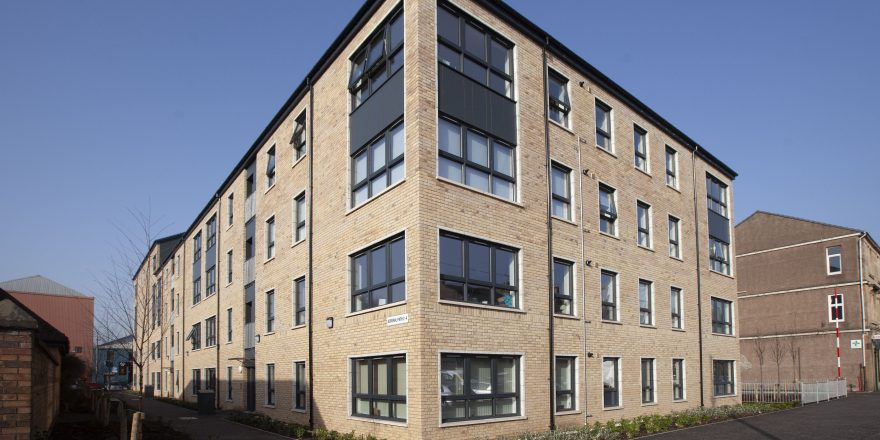 NEW AFFORDABLE HOMES COMPLETED IN GLASGOW'S KINNING PARK