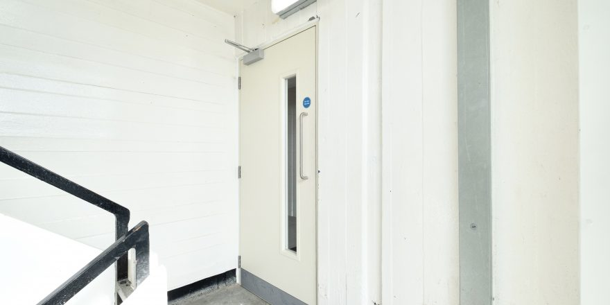 NEW GORBALS TOWERS FIRE DOORS, GLASGOW