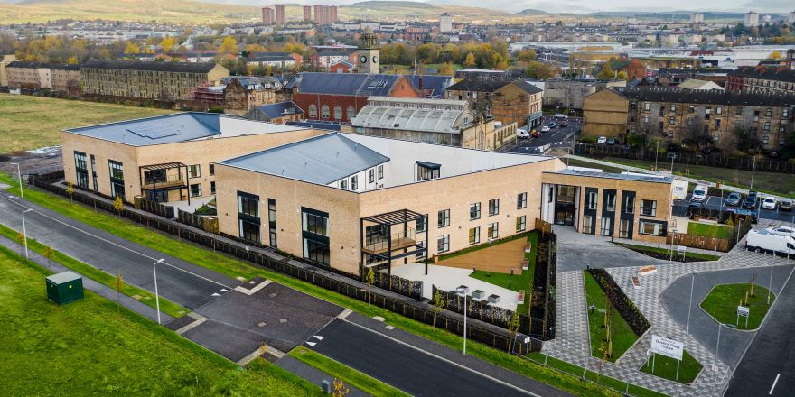 NEW CARE HOME IN CLYDEBANK WELCOMES FIRST RESIDENTS