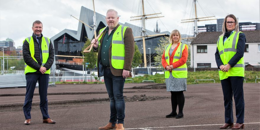 92 HOMES UNDERWAY IN GOVAN